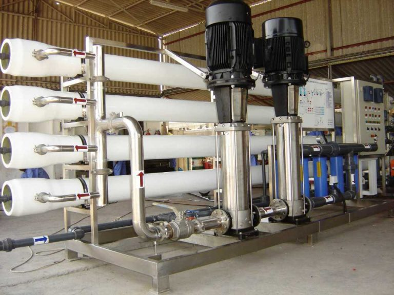 8000 Litre Per Hour Reverse OSmosis unit supplied by the dex lab